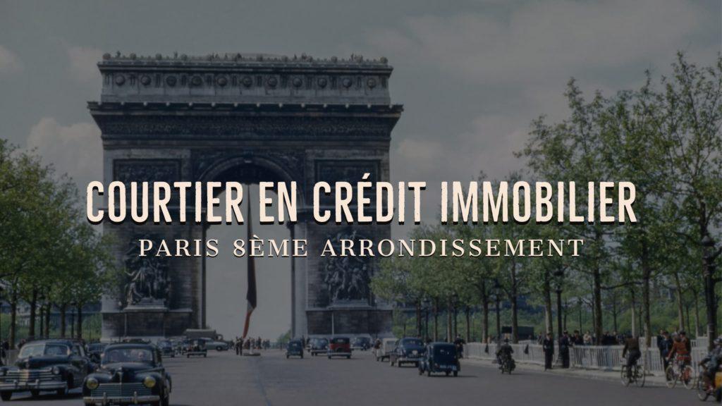 Photo de l'Arc de Triomphe - Courtier immobilier Paris 8