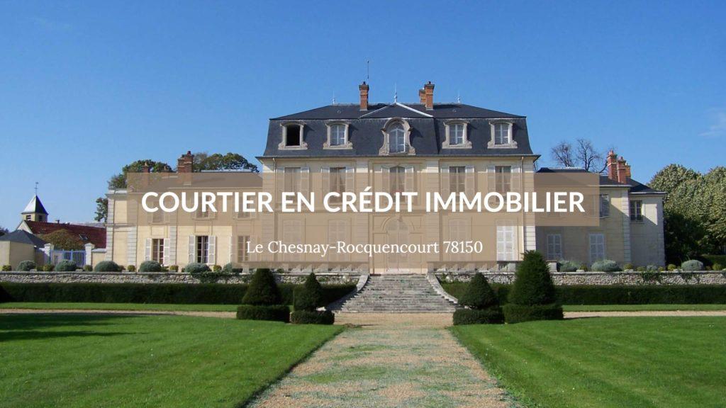 Photo du château de la ville - Courtier immobilier à Le Chesnay Rocquencourt