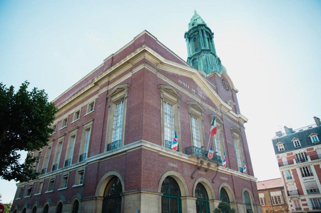 Photo de la mairie de Bois-Colombes 92270 - Courtier en prêt immobilier à Bois-Colombes