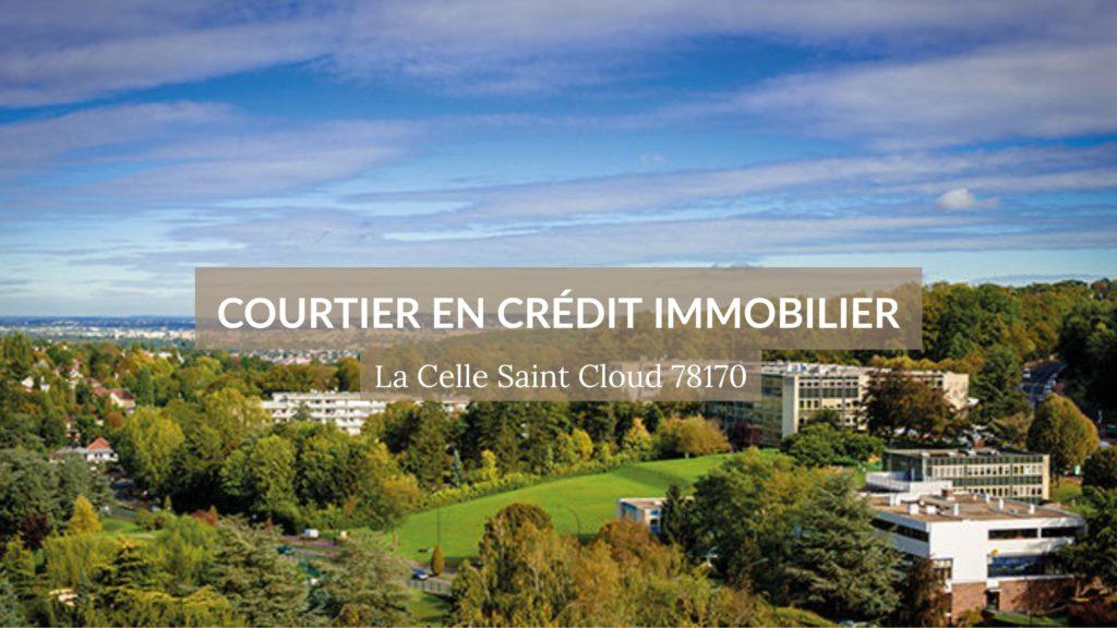 Vue aérienne de la ville de La Celle Saint Cloud - Courtier immobilier à La Celle Saint Cloud 78170