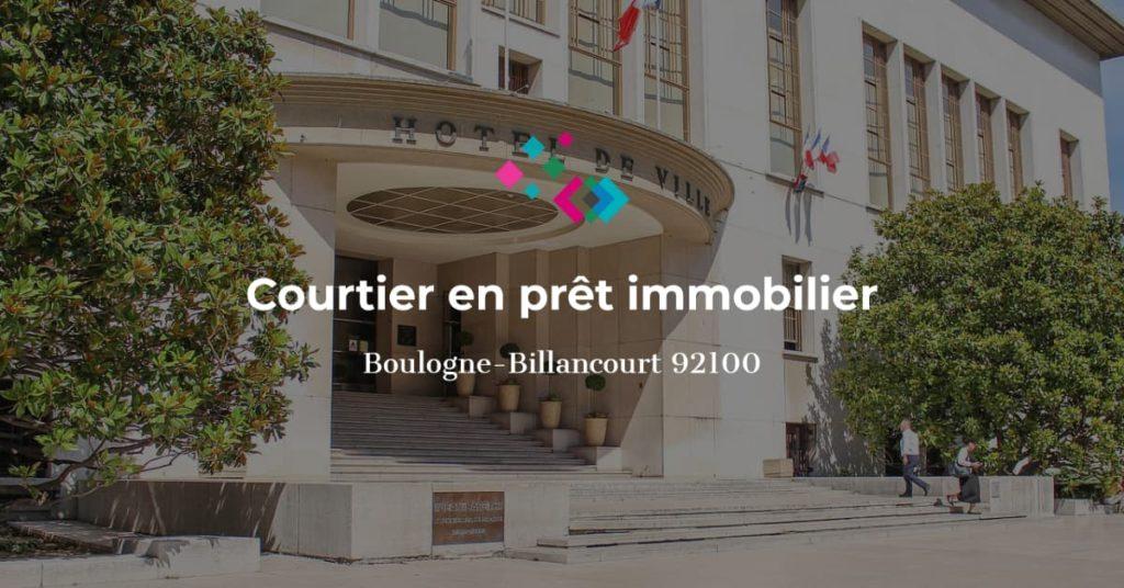 courtier en prêt immobilier à Boulogne Billancourt 92100